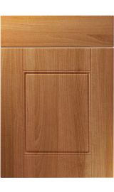unique henlow natural aida walnut kitchen door