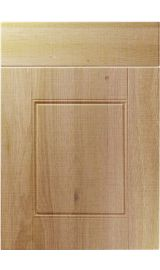 unique henlow odessa oak kitchen door