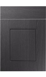 unique henlow painted oak graphite kitchen door