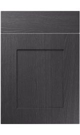unique johnson painted oak graphite kitchen door