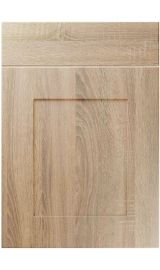 unique johnson sonoma oak kitchen door