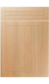 unique juliette light ferrara oak kitchen door