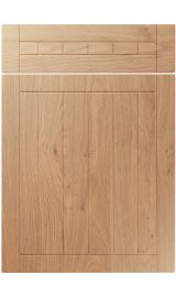 unique juliette light winchester oak kitchen door