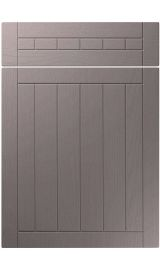 unique juliette painted oak dust grey kitchen door