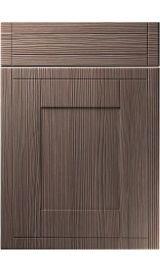 unique keswick brown grey avola kitchen door