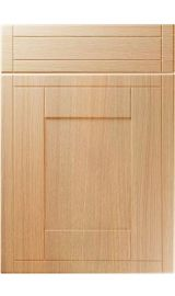 unique keswick light ferrara oak kitchen door
