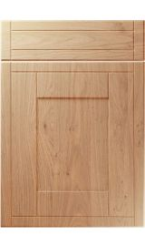 unique keswick light winchester oak kitchen door