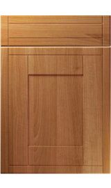 unique keswick natural aida walnut kitchen door