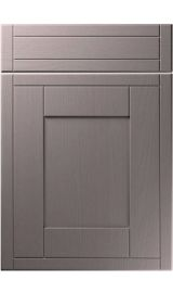 unique keswick painted oak dust grey kitchen door