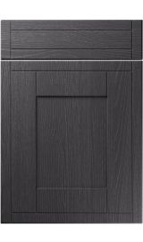 unique keswick painted oak graphite kitchen door
