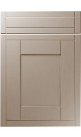 unique keswick painted oak stone grey kitchen door