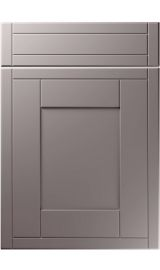 unique keswick super matt dust grey kitchen door