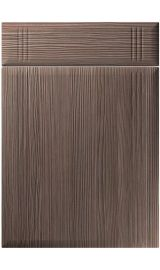 unique linea brown grey avola kitchen door
