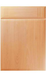 unique linea ellmau beech kitchen door