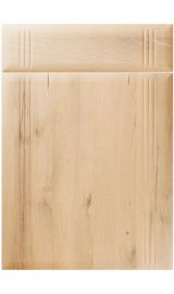 unique linea iconic beech kitchen door