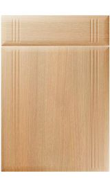 unique linea light ferrara oak kitchen door