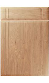 unique linea light winchester oak kitchen door
