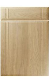 unique linea lissa oak kitchen door