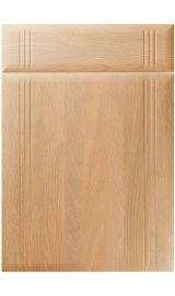 unique linea montana oak kitchen door