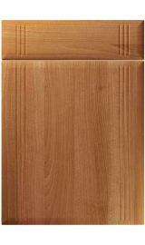 unique linea natural aida walnut kitchen door