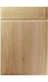 unique linea odessa oak kitchen door