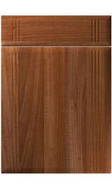 unique linea opera walnut kitchen door