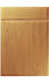 unique linea winchester oak kitchen door