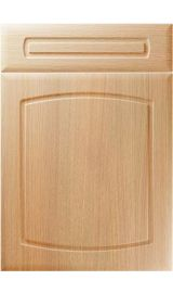 unique madrid light ferrara oak kitchen door