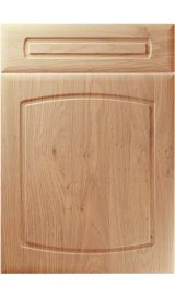 unique madrid light winchester oak kitchen door