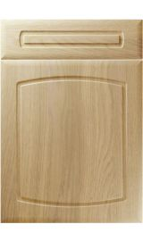 unique madrid lissa oak kitchen door