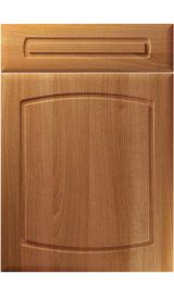 unique madrid natural aida walnut kitchen door