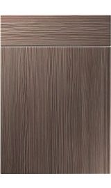 unique manhattan brown grey avola kitchen door