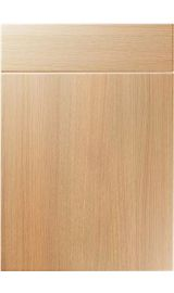 unique manhattan light ferrara oak kitchen door