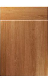 unique manhattan natural aida walnut kitchen door