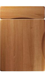 unique metropole natural aida walnut kitchen door