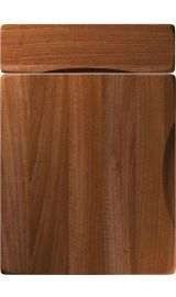unique metropole opera walnut kitchen door