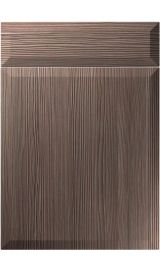 unique milano brown grey avola kitchen door