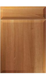 unique milano natural aida walnut kitchen door