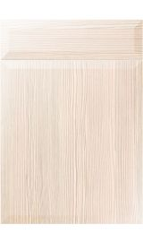 unique milano white avola kitchen door