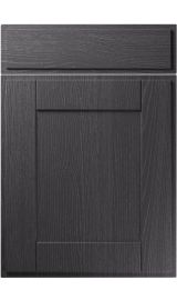 unique new england painted oak graphite kitchen door