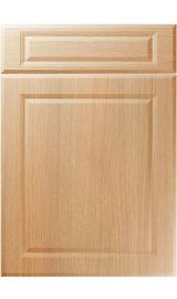 unique new fenland light ferrara oak kitchen door