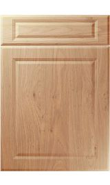 unique new fenland light winchester oak kitchen door