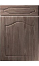 unique new sudbury brown grey avola kitchen door