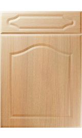 unique new sudbury light ferrara oak kitchen door
