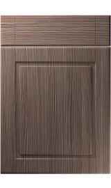 unique nova brown grey avola kitchen door