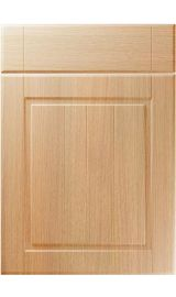 unique nova light ferrara oak kitchen door