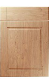 unique nova light winchester oak kitchen door