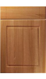 unique nova natural aida walnut kitchen door