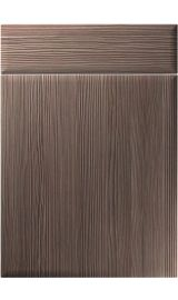 unique oslo brown grey avola kitchen door