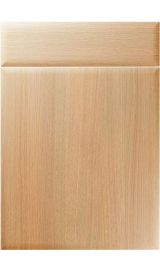 unique oslo light ferrara oak kitchen door